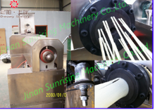 CY-100 single screw extruder machine for making macaroni, dog chewing snacks