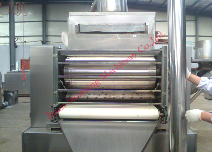 CY-65 double screw extruder 150kg per hour Cereal corn flakes extruding machine