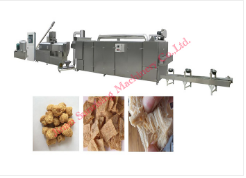 Soya protein making machine soya bean food extruder